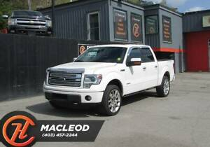 2013 Ford F-150 Limited,Bluetooth,Heated Leather Seats,Sunroof