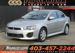 2017 Mitsubishi Lancer ES/FWD/ Back up cam/ Heated seats/ Blueto