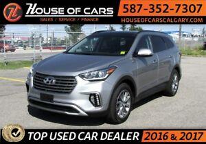 2017 Hyundai Santa Fe Limited / AWD / Navi / Leather /Back up Ca