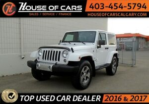 2016 Jeep Wrangler Sahar LOW KMS!! APPLY TODAY DRIVE TODAY!!