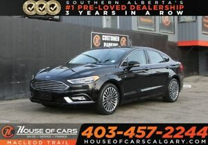 2017 Ford Fusion Titanium/ AWD/ Navi/ Sunroof/ Heated,Cold Seats