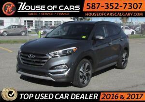2017 Hyundai Tucson /AWD / Leather / Navi / Sunroof Limited