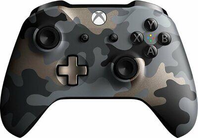 Microsoft WL3-00150 Xbox One Wireless Controller, Night Ops Camo