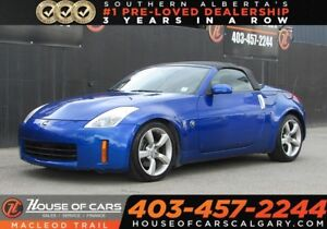 2007 Nissan 350Z Base w/Black Top/Roadster-Calgary
