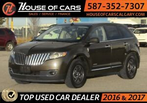 2011 Lincoln MKX AWD / Back up Camera / Sunroof  /Leather