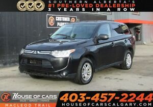 2014 Mitsubishi Outlander SE/ 7 Passenger/ AWD/ Heated Seats