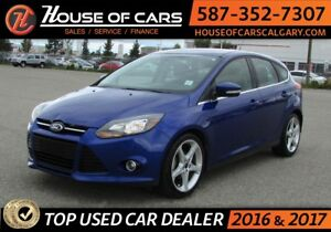 2013 Ford Focus / Back Up Camera / Leather / Sunroof / Heate Tit