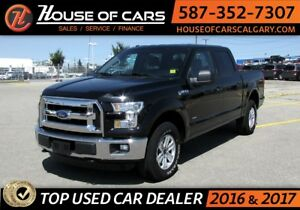 2016 Ford F-150 XLT SuperCrew 6.5-ft. Bed 4WD / Blutooth