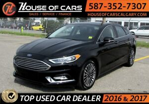 2017 Ford Fusion SE/ AWD / Leather / Back up Camera