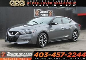 2017 Nissan Maxima SV/Leather seats/ Navi/ Heated seats/Back up