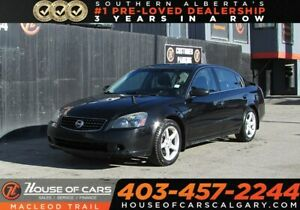 2006 Nissan Altima 3.5 SE,Sunroof, H.seats,  Leather  seats