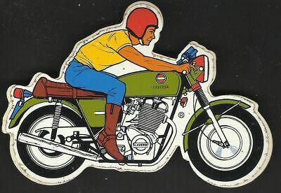 Moto LAVERDA ancien sticker autocollant