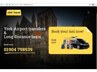 The easiest way to book your taxi journey is our website