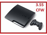 CHEAPEST PS3 3.55 SLIM GTA 5 CEX OR DEX FULLY WORKING 10 GAMES CHEAP JB