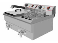 Modena FT11 Double Electric Fryer Brand New In Box