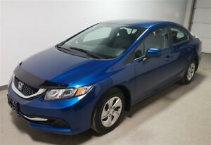 2015 Honda Civic LX - Remote start - Htd seats- Back up cam