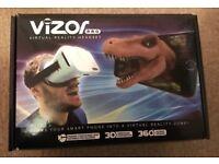 Vizor virtual reality headset