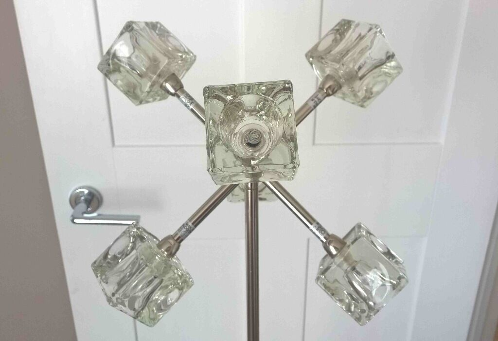 Rare find ikea ice cube floor lamp with 5 bulbs in woking surrey ikea ice cube floor lamp with 5 bulbs aloadofball Images