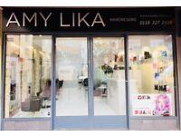 Senior Hair stylist position available at Amy Lika Hair Salon