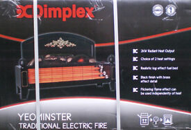 ELECTRIC FIRE - DIMPLEX - YEOMINSTER