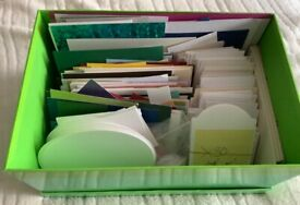 Large set of scraps of quality card off cuts mixed bundle