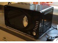 Next black microwave, excellent condition