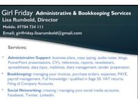 Administrative & Bookkeping Services