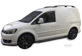 VW31127-VW-CADDY-2004-2012-smoked-wind-deflectors-2pcs-set-HEKO-TINTED D new