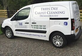 TREES DRY CARPET CLEANING - Carpets, Upholstery & Hard Floors - Instantly Dry, Green & Clean !!