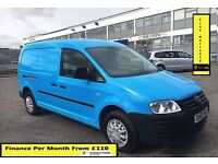 Volkswagen Caddy Maxi 1.9 Van- 43K Miles Only -1 Owner , FSH- 5 Stamps ,1YR MOT, Air Con, Warranty