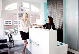 Receptionist & Administrator (full time) in Mayfair for a Private GP & Aesthetic Clinic