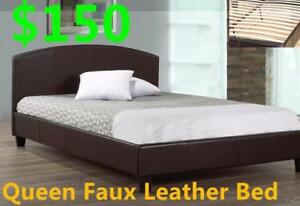 Brand new queen bed for $150. Mattress and sofa winter sale!
