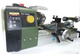 PROXXON FD150 E MINI METAL WORK LATHE 24150