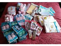 Job lot of new baby items