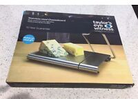 Stainless steel cheese board