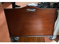 Vintage retro Ercol paper case