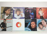 "8 x Cliff Richard Singles 7"" vinyls job lot collection All Pictured"