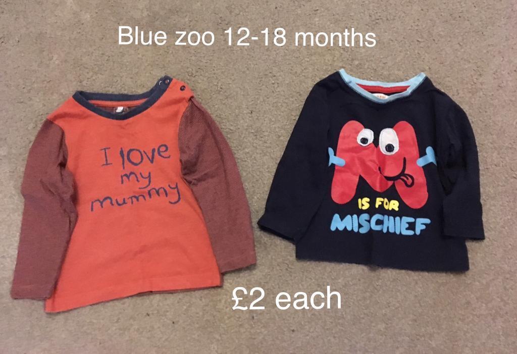 Blue zoo tops