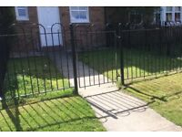 Used Wrought Iron Garden Fence