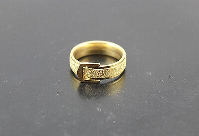 Großhandel Gürtel (50pcs Großhandel Vergoldet Schmuck Gürtelschnalle Ring Edelstahl Ringe DH250)