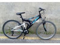 Mens Raleigh Spectre Activ Dual Suspension Mountain Bike In VGC
