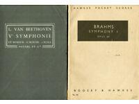 Miniature scores - symphones