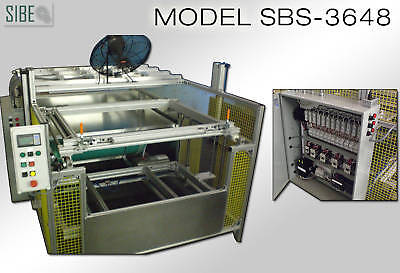 Sibe Automation Vacuum Forming Machine 36 X 48 Thermoforming Automatic