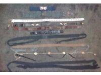 Job Lot 10 Women's Belts. Various Colours, Sizes & Widths. PLUS hanger. Ideal Car Boot Sale Stock.