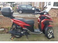 Yamaha tricity 125cc / 3 wheeler / knowledge bike west london