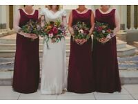 Three Beautiful Bridesmaid Dresses for Sale - £100 Each