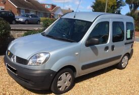 RENAULT KANGOO AUTHENTIQUE AUTOMATIC COMPLETE WITH DISABILITY RAMP AND ELECTRIC HOIST