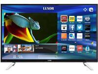 LUXOR 55 TV 4K SUPER Smart HD TV,built in Wifi,Freeview HD, NETFLIX, Ex-Display/NEW