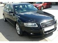 Audi A6 Estate. S-Line 57 plate. Black