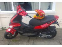 Gilera runner st 125 with 210 engine rege as 125